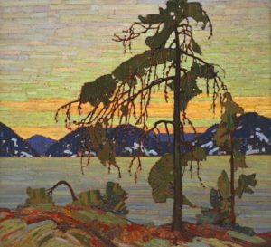plein air painting, Algonquin Park, Ontario Parks, Ontario, Canada, Tom Thomson, The Jack Pine