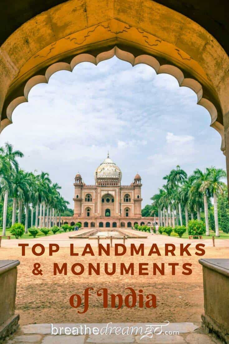 Safdarjung Tomb, Top landmarks and monuments of India #Indialandmarks #monumentsofIndia #IncredibleIndia