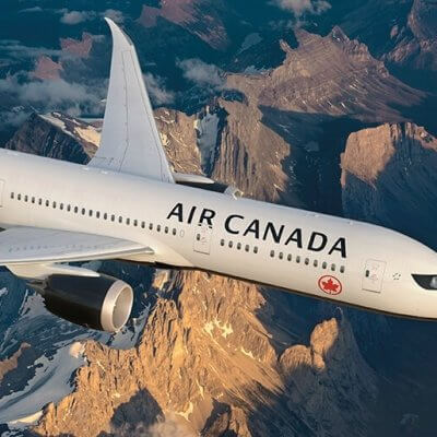 Air Canada flights to India:  Direct to Delhi on Dreamliner