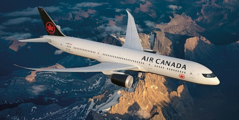 air canada flights, flights to India, air tickets to India