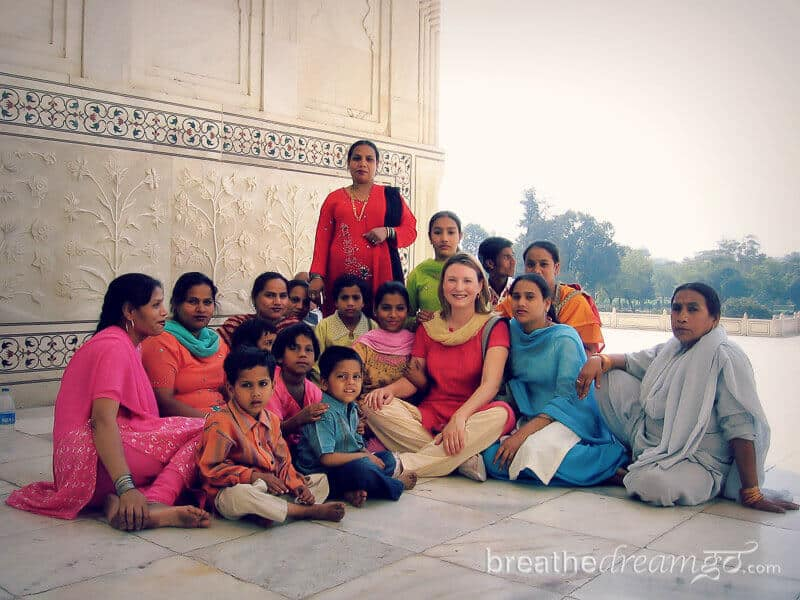 travel in India, Mariellen Ward, Breathedreamgo