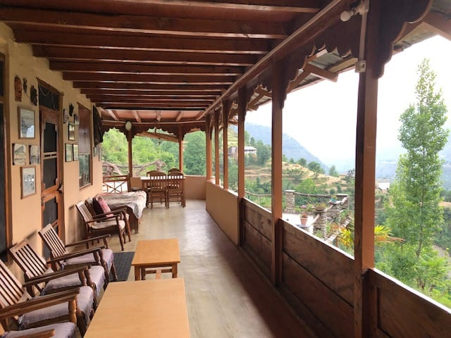 Himalayan homestay, Uttarakhand, India