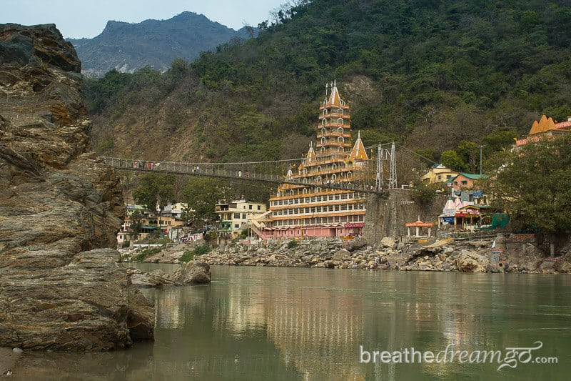 Rishikesh is a stop on the Yoga Tour to India