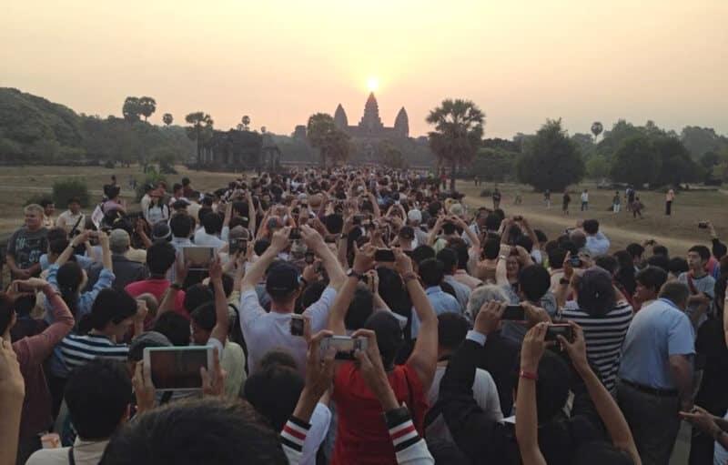 Angkor Wat, overtourism