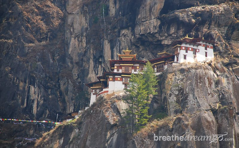 Taktsang Tiger's Nest Monastery in the Himalayas, Bhutan