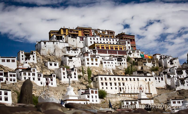 Thiksey Buddhist monastery, Ladakh, India