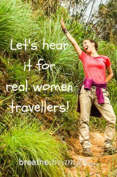 A photo essay celebrating real women travellers. #TravelReality