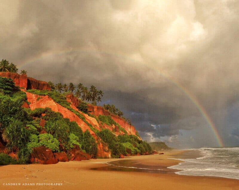 Beautiful Varkala Beach in Kerala, India, through the lens of photographer Andrew Adams.