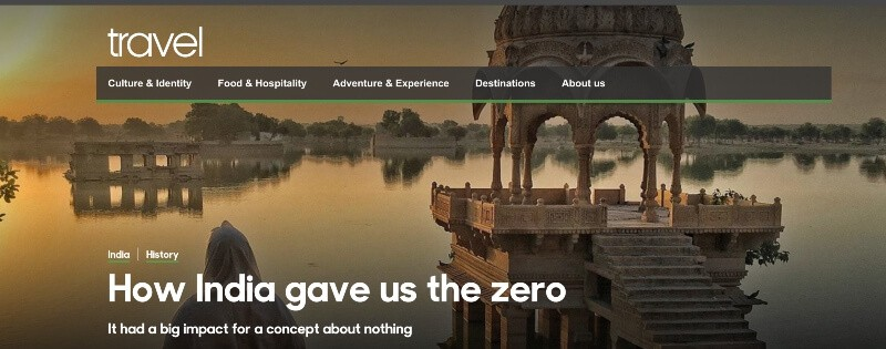 BBC Travel How India gave us zero