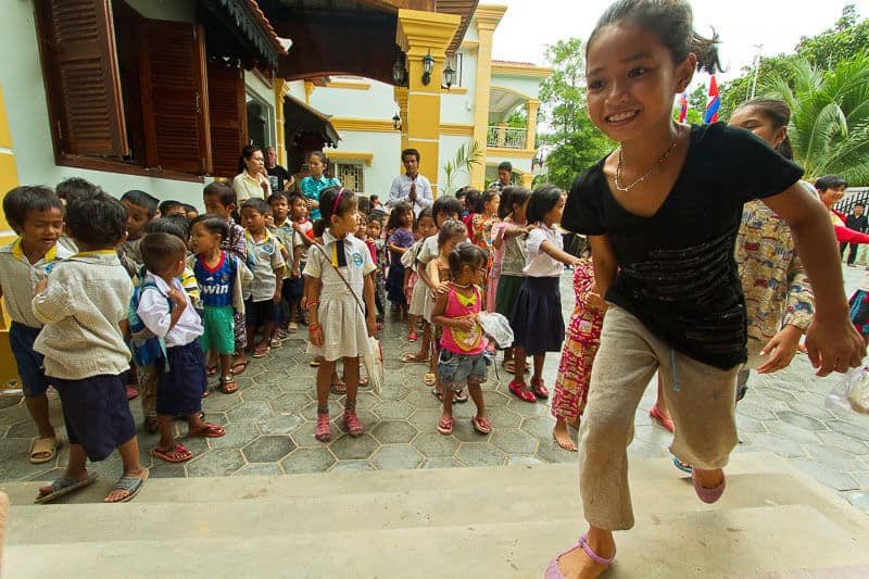 Siam Reap New Hope Planeterra Children supports child welfare and ethical tourism
