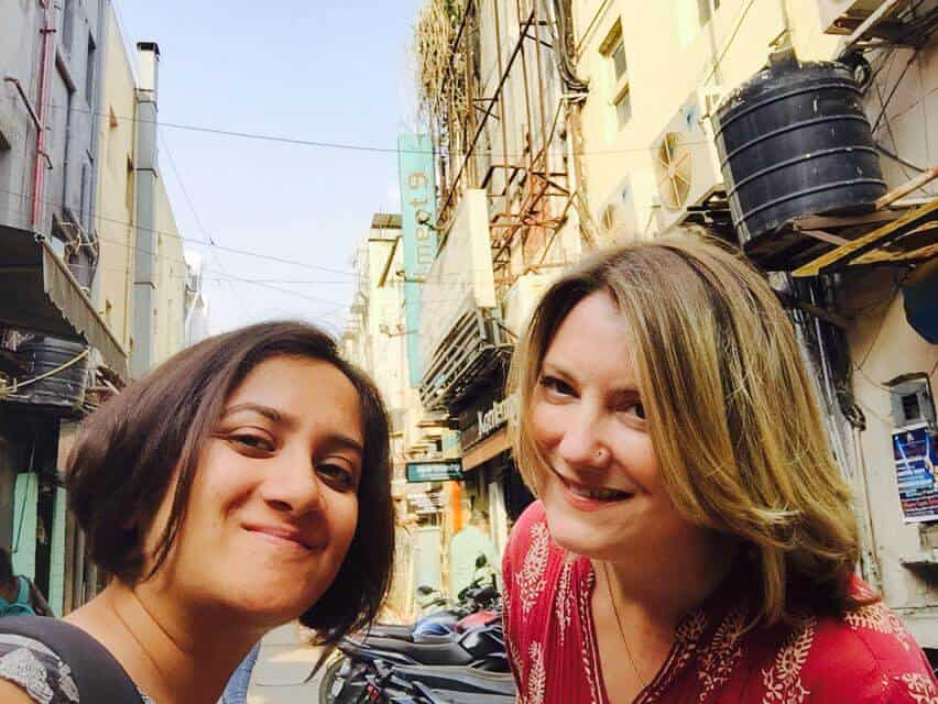Travel writers Shivya Nath and Mariellen Ward