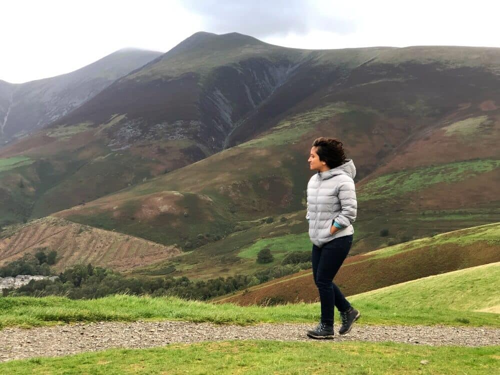 Travel writer Shivya Nath, the Lake District, UK