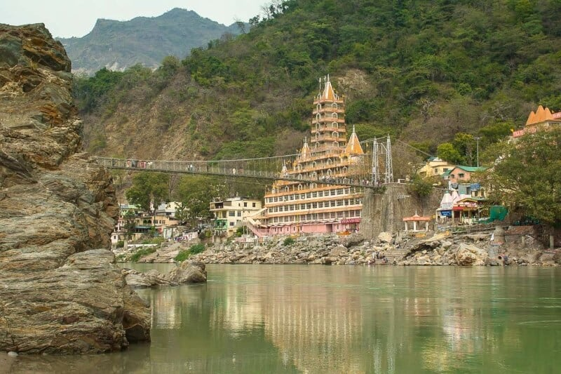 Rishikesh, India is the Yoga capital of the world