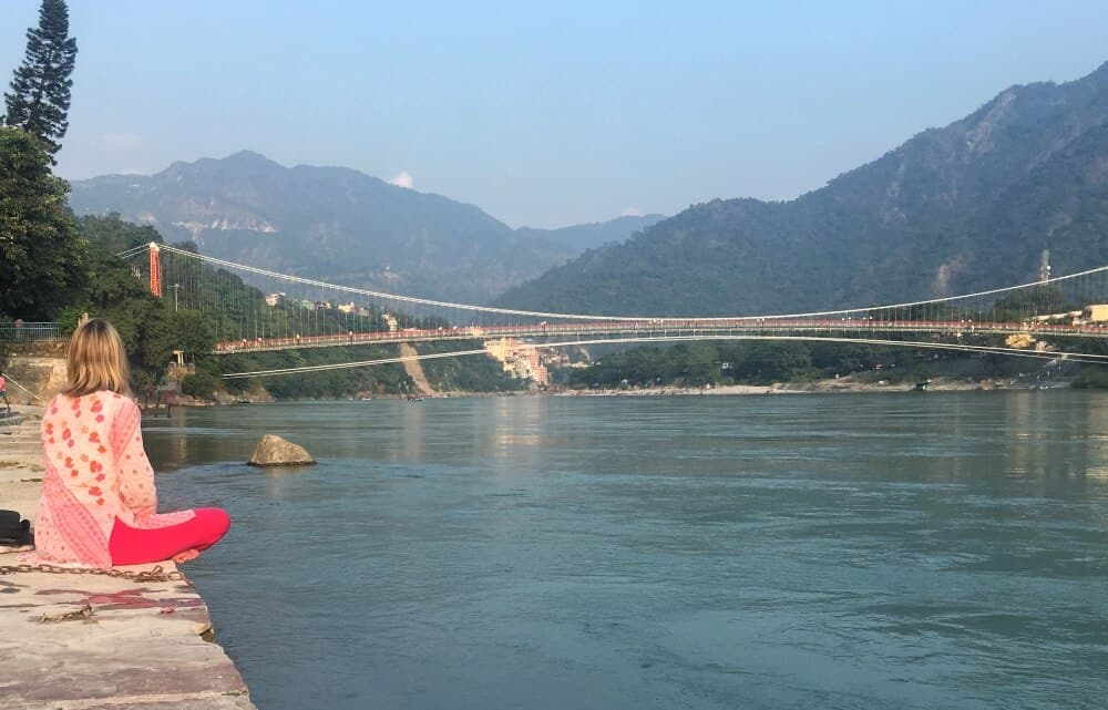 Mariellen Ward, Ganga, Rishikesh, India