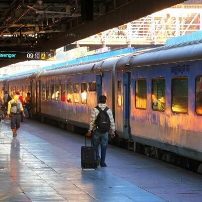 How to travel on Indian trains, planes, and automobiles