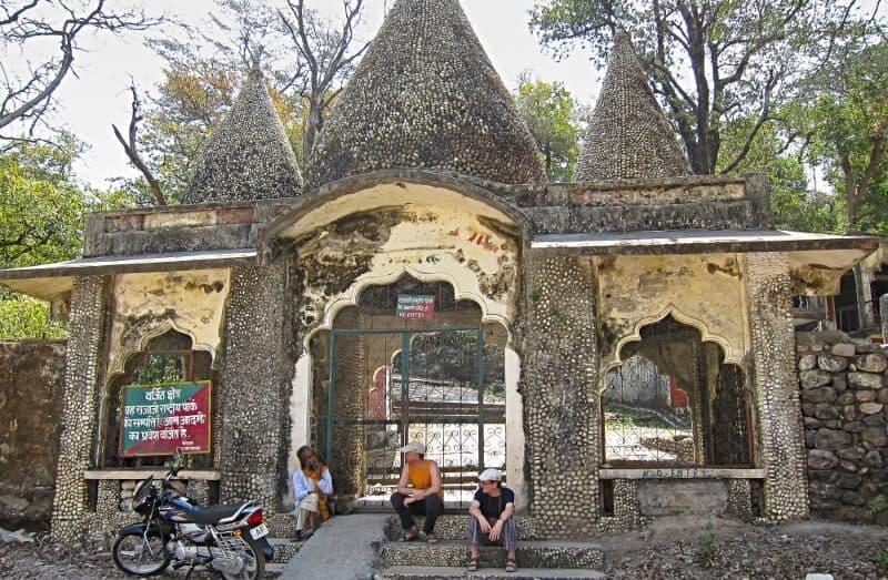 The Beatles ashram gate, Rishikesh, India (2012)
