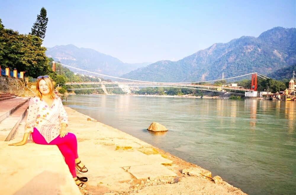 Soaking up the light and good vibrations in Rishikesh