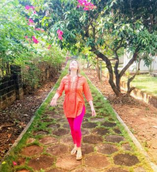 In Udupi celebrating the new year, and the new me