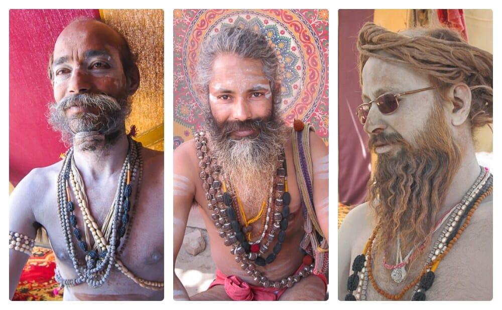 Kumbh Mela Indian festival 2010 Naga Sadhus