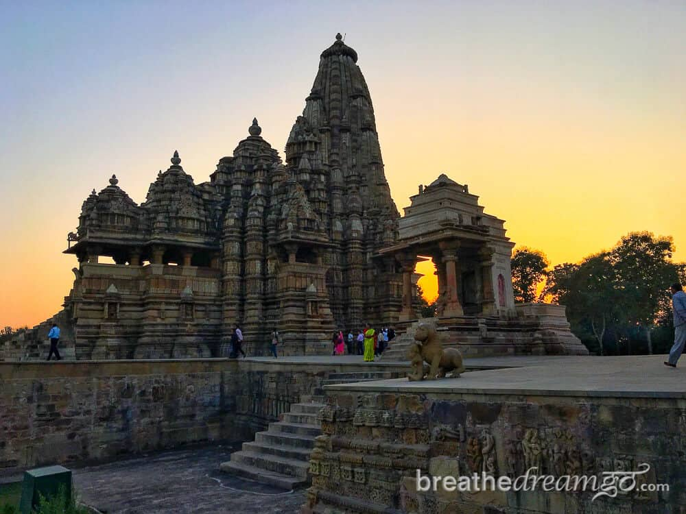 Khajuraho is one of the best tourist places in Madhya Pradesh