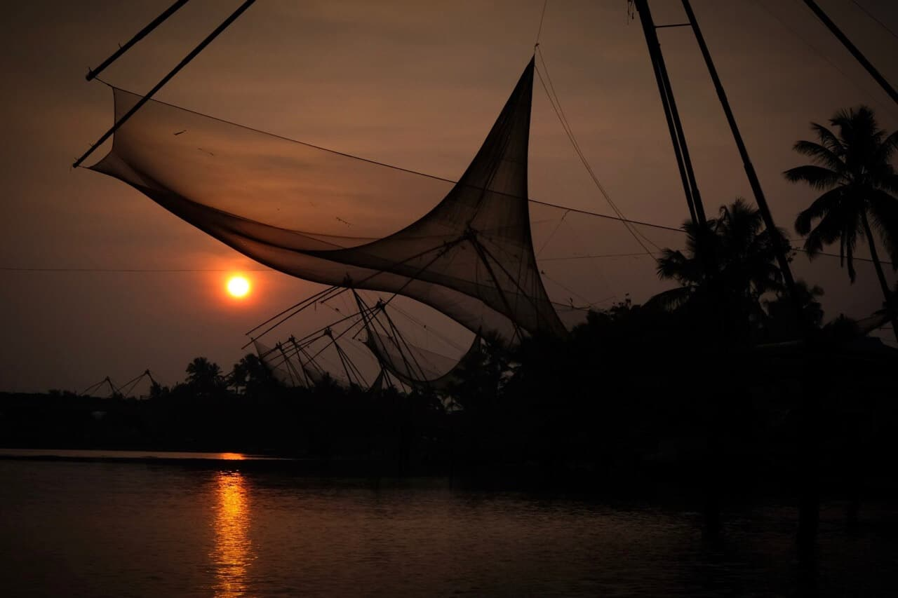 Chinese Fishing Nets, Backwaters, Kerala