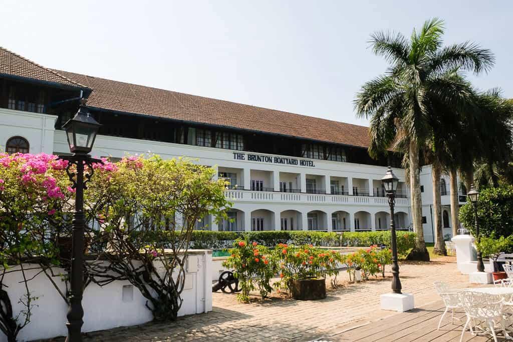 CGH Earth Brunton Boatyard the best Kerala Hotels and resorts