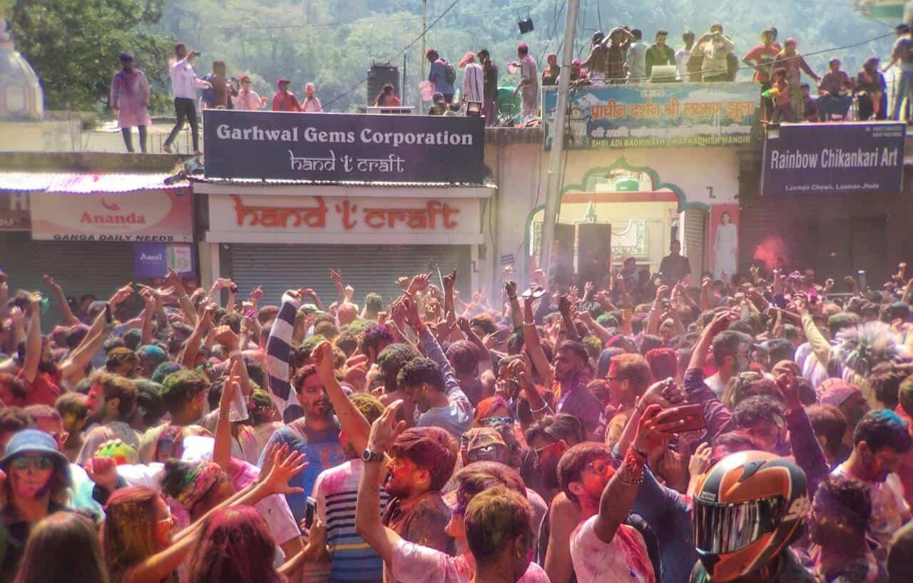 Holi 2020 in Rishikesh