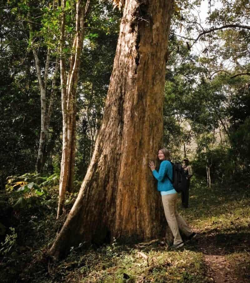 Mariellen at Periyar Tiger Reserve, Kerala