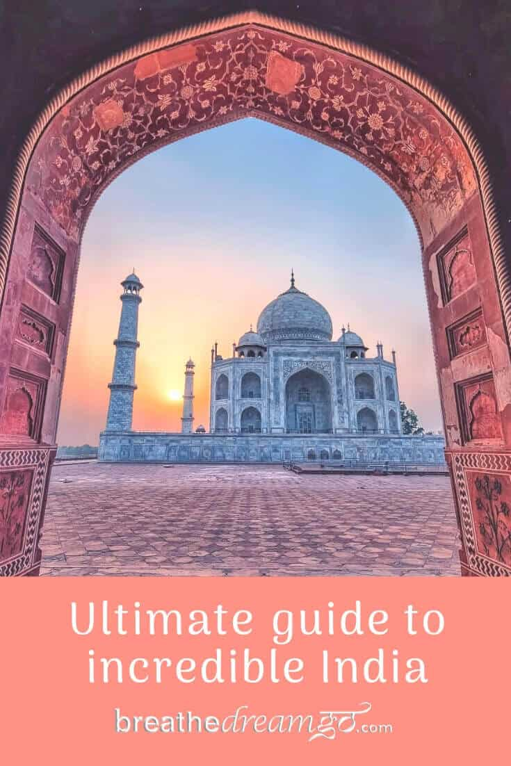 Guide to travel in incredible India