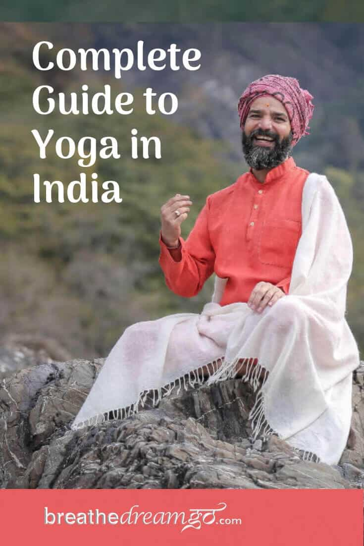 Indian Yoga teacher in Rishikesh for Guide to Yoga in India