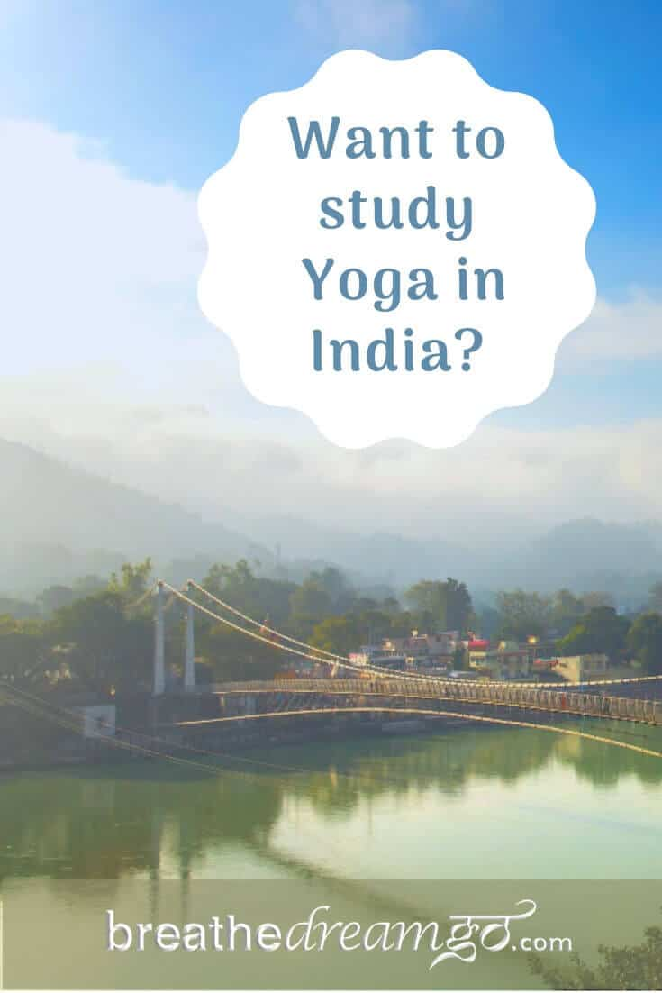 Beautiful Rishikesh is the centre for studying Yoga in India