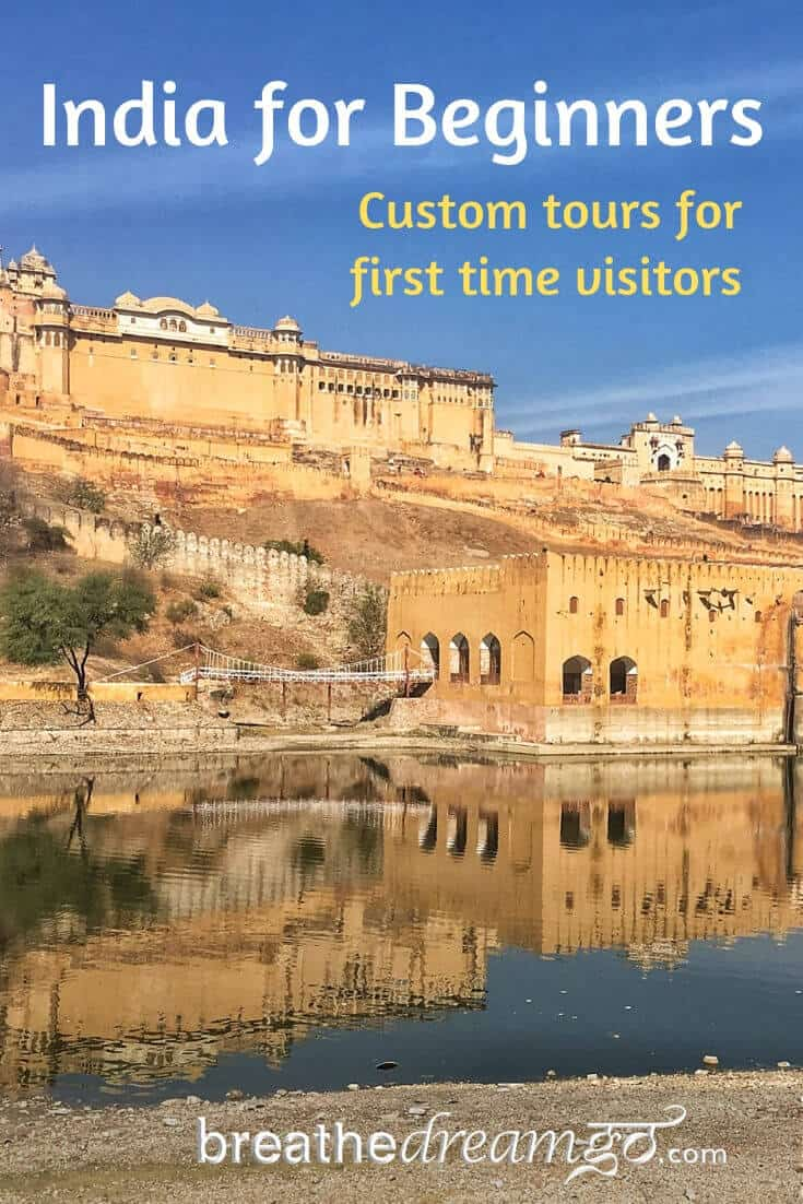 Amer Fort in Jaipur is one the India for Beginners custom tour itinerary