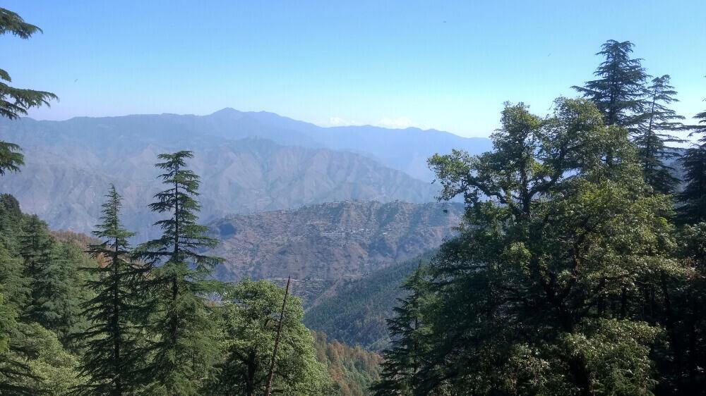 Landour scenic trekking hills, Uttarakhand, India