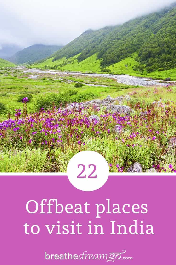 offbeat places to visit in India
