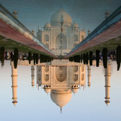 Taj Mahal photos, history and information