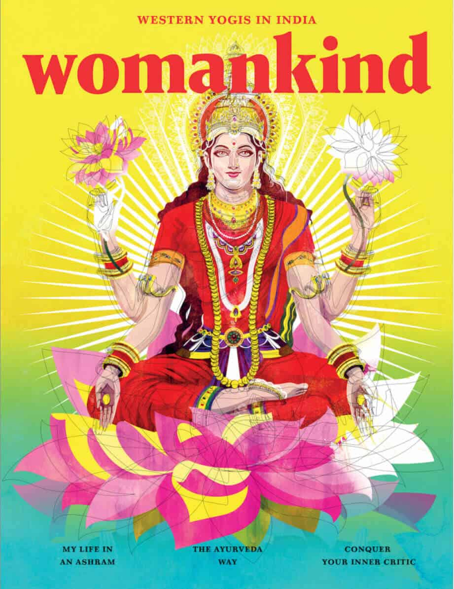 Travel writing on India in Womankind