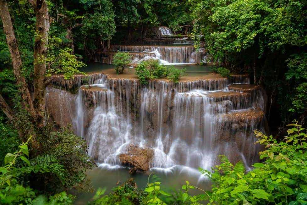 water falls in Thailand