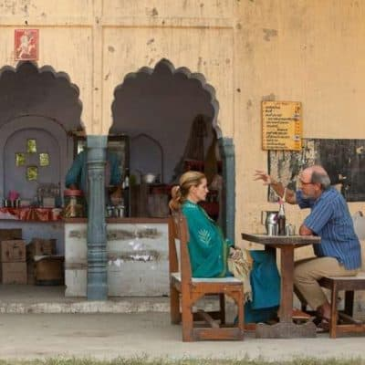 Scene from film Eat, Pray, Love shot in India
