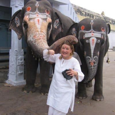 Mariellen elephant blessing