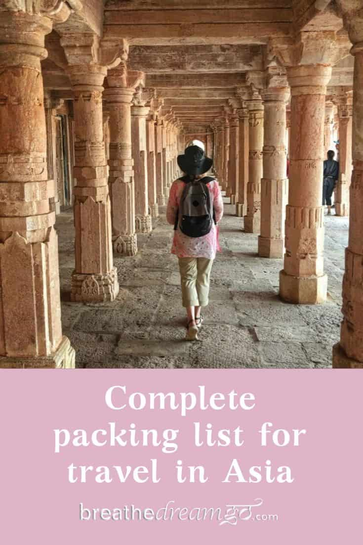 Backpacking in India and Asia