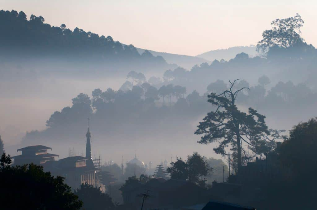 Myanmar travel photo: Kalaw mountains