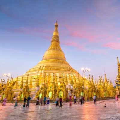 Myanmar travel photo: Shwedagon Pagoda
