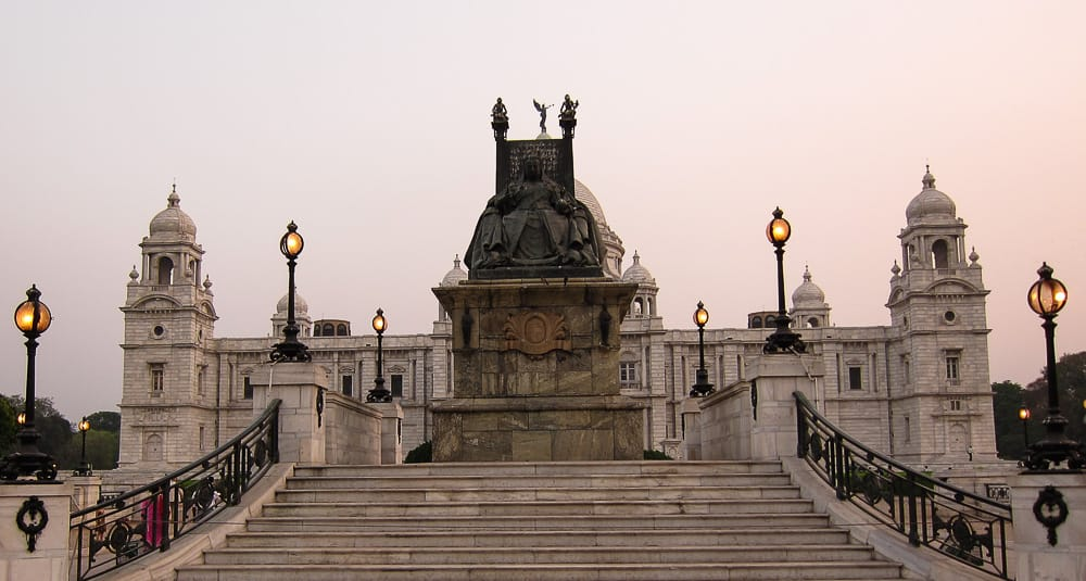 Victoria Memorial building in Kolkata