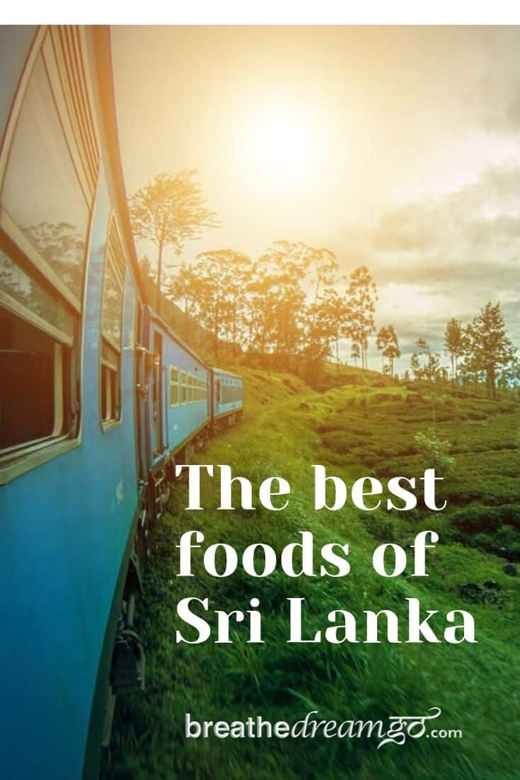 best foods of Sri Lanka pinterest