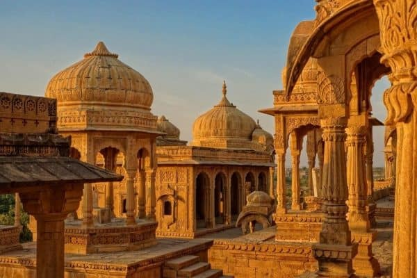 Tombs of Jaisalmer India