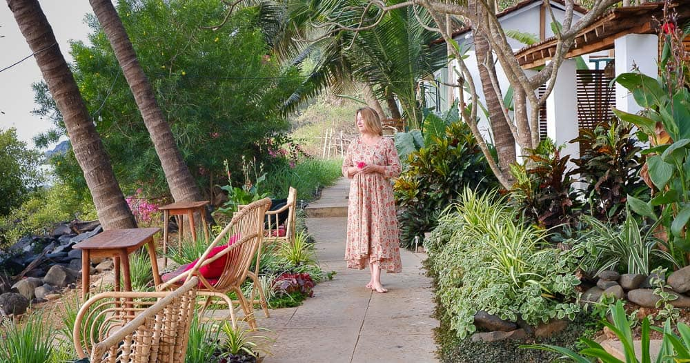 Mariellen Ward at Casa Jaali offbeat Goa resort