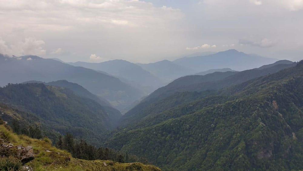 mountains of Nepal, Mohare Danda trek
