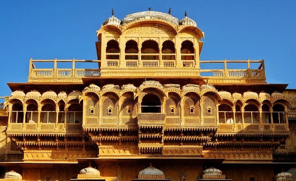 Haveli in Jaisalmer, India