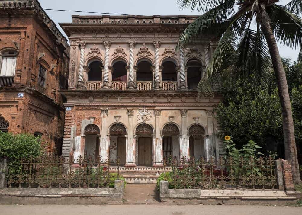 Old mansion at Sonargaon, Bangladesh