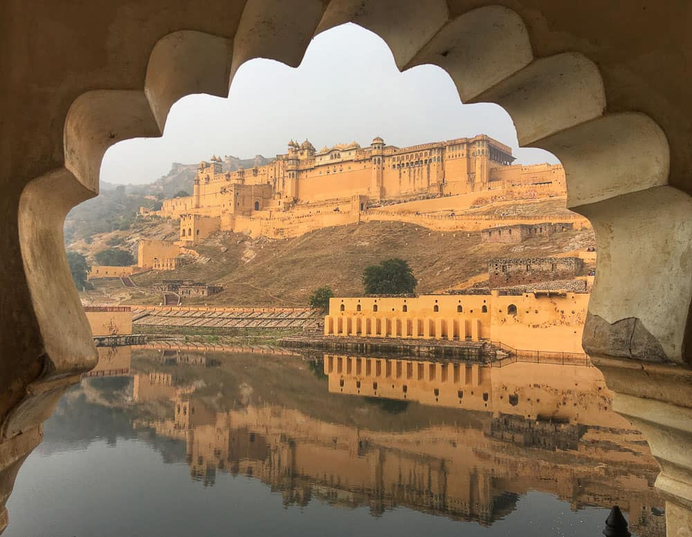 View of Amber Fort, Jaipur